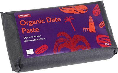 Органическая финиковая паста 1кг натуральный веган продукт, Тунис