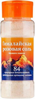 Соль Гималайская розовая мелкая 150гр помол №0, натуральный, экологически чистый продукт
