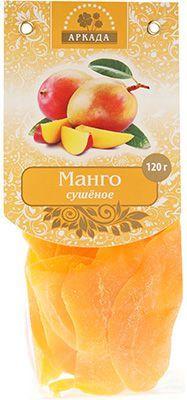 Манго сушеное 120г язычки, Россия