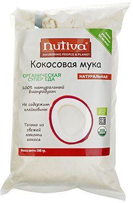 Кокосовая мука 500г Organic, Nutiva