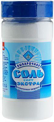 Соль Экстра 500г выварочная, Россия