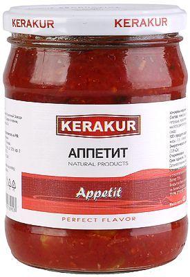 Консервы овощные Аппетит 480г KERAKUR, Армения