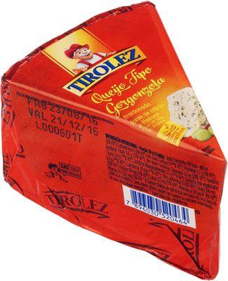Сыр Горгонзола 50% жир., ~ 180г с голубой плесенью, Бразилия