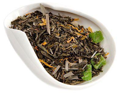 Чай зеленый Алоэ Вера 100г ароматизированный, Китай