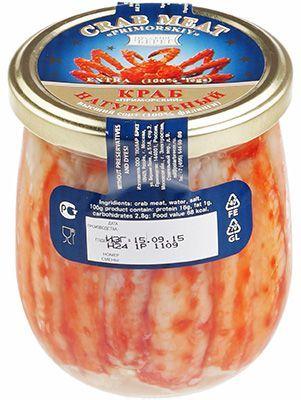 Мясо краба 390г высший сорт
