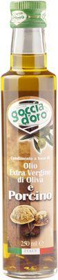 Масло оливковое с белыми грибами 250мл Extra Virgin, Goccia D`Oro, Италия
