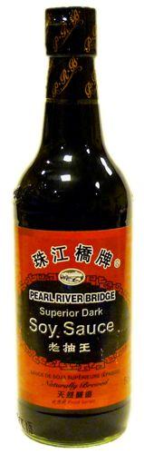 Соус соевый темный Супериор 0,5л Pearl River Bridge