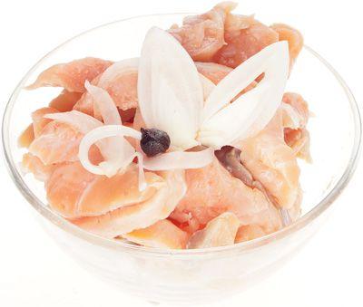 Форель в маринадной заливке из Карелии 170г пресервы из форели радужной, из охлажденного сырья, ломтики, Карелия