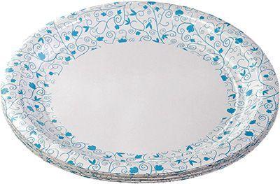 Тарелка бумажная Decor
