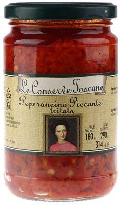 Перец острый резаный Toscane 0,314л Toskane, Италия