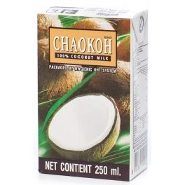 Кокосовое молоко 250мл Chaokoh, Таиланд