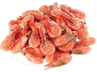 Креветки пивные 500г 80/100, без глазировки, дикие, варено-мороженые