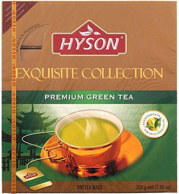 Чай Хайсон зеленый премиум 200г 100штх2г, HYSON