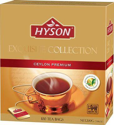 Чай Хайсон Цейлон черный премиум 200г 100штх2г, HYSON