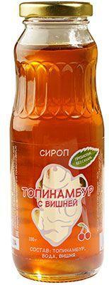 Сироп Топинамбура Вишня 330г пребиотик без сахара, Россия