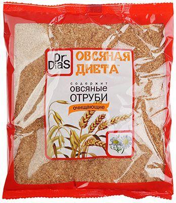 Отруби овсяные очищающие, 200г Dr.DiaS, Россия