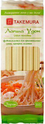 Лапша Удон 300г пшеничная, сухая