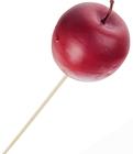 Украшение декоративное Яблоко красное 1шт