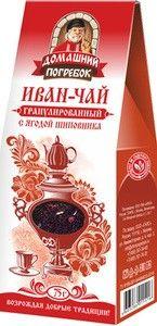 Иван-чай с ягодой шиповника 75г
