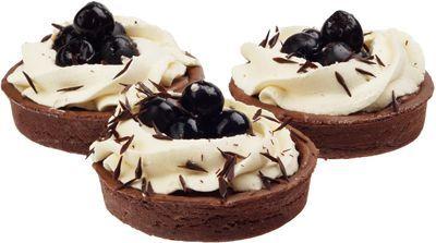 Тарталетка шоколадная с вишней 1,08кг