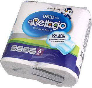 Туалетная бумага 3-слойная 4 рулона