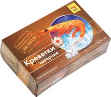 Креветки Северные варено-мороженые 1кг