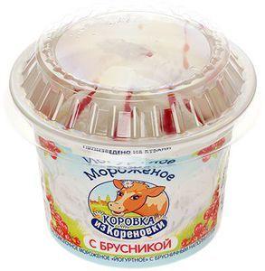 Мороженое Йогуртное с брусникой 6% жир., 100г