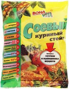 Соевое мясо куриный стейк 80г