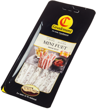 Колбаски сыровяленые полусухие Мини Фуэт 90г