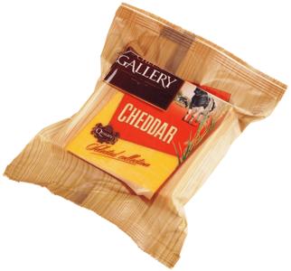Сыр Чеддер красный 45% жир., 250г