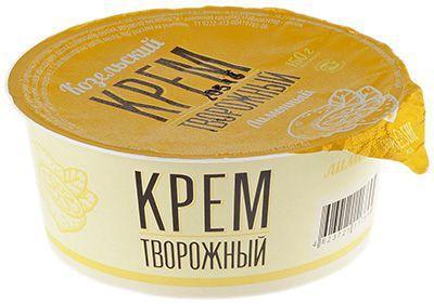 Крем творожный лимонный 7% жир., 150г