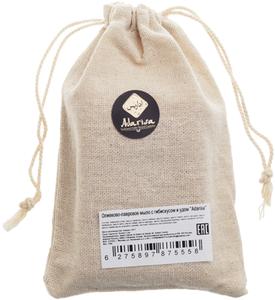 Мыло оливково-лавровое с гибискусом и удом 130г