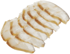 Палтус холодного копчения ломтики 150г