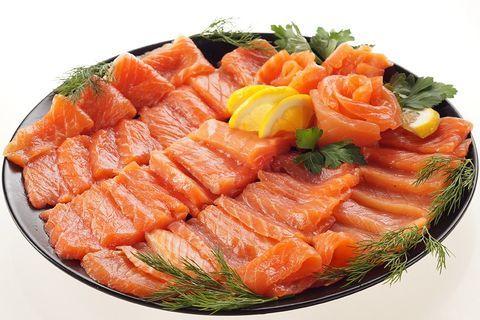 Солим красную рыбу