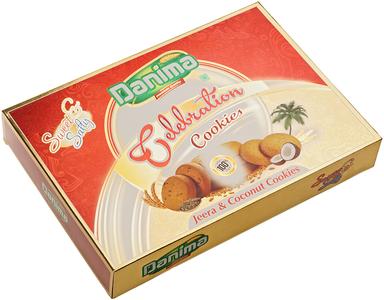 Печенье индийское с зирой и кокосом 300г