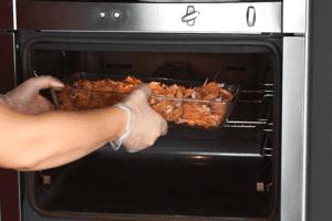 Обжарить в духовке при температуре 200С 15-20 минут.