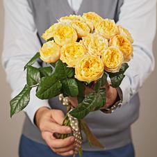 Роза Голден Вувузела 40см 1шт