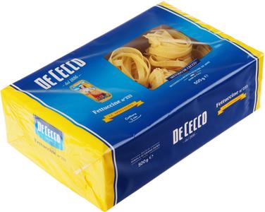 Паста Феттуччине De Cecco №233 500г