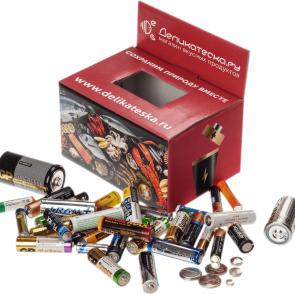 Сервис по сбору и переработке батареек