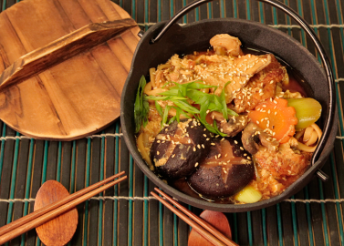 Унаги набэ - суп с угрем