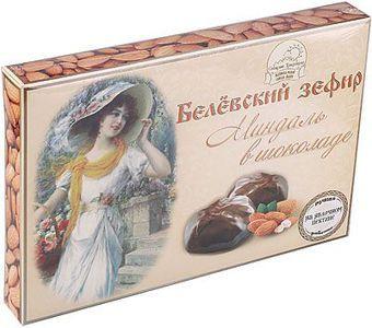 Белевский зефир в шоколаде Миндальный 250г