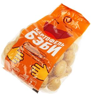Картофель Бэби мытый 2кг