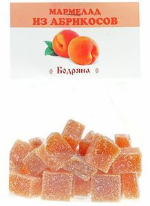 Мармелад абрикосовый 200г