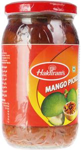 Пикули из кусочков манго 400г
