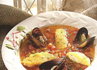 Португальская рыбацкая похлебка