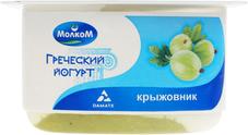Йогурт с крыжовником Греческий 3,4% жир., 125г