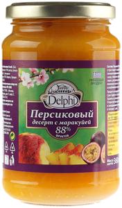Десерт персиковый с маракуей 360г