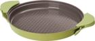 Сковорода-гриль круглая с силиконовыми прихватками 26см