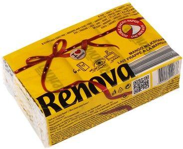 Платочки бумажные Mango Yellow