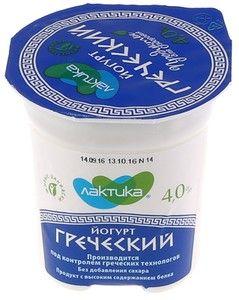 Йогурт Греческий 4% жир., 120г